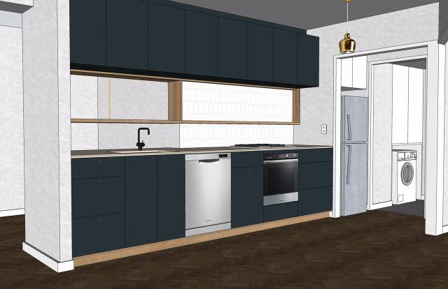 Kitchen renovation design